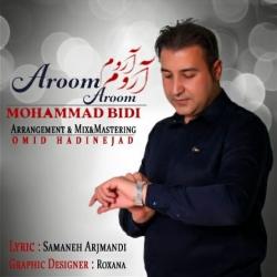 دانلود موزیک ویدیو آروم آروم از محمد بیدی