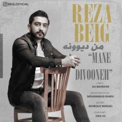 دانلود موزیک ویدیو من دیوونه از رضا بیگ
