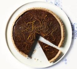 طرز تهیه تارت پرتغال و شکلات - دسر بدون گلوتن   مجله هفتگی